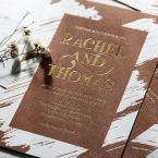 Rustic Brush Stroke with Foil wedding invitations FWI116091-TR-GG_7