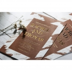 Rustic Brush Stroke with Foil wedding invitations FWI116091-TR-GG_8