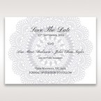 Blue Blue Elegance, Floral Couture - Save the Date - Wedding Stationery - 66