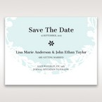 White Enchanted Forest II Laser Cut P - Save the Date - Wedding Stationery - 5