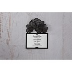 White Laser Cut Floral Lace - Save the Date - Wedding Stationery - 62