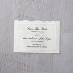 White Enchanted Folral Pocket III - Save the Date - Wedding Stationery - 15