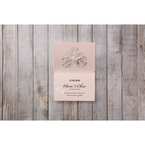 Pink Perching Birds Laser Cut - Save the Date - Wedding Stationery - 20
