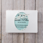 Blue Laser cut love birds - Save the Date - Wedding Stationery - 23