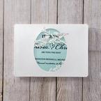 Blue Laser cut love birds - Save the Date - Wedding Stationery - 23