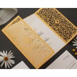 Golden Botanical gates - Wedding Invitations - PWI116022-DG-C-7618 - 183898