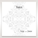 Black A Night at the Opera - Table Number Cards - Wedding Stationery - 62
