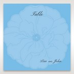 Blue Urban Flower Handcrafted - Table Number Cards - Wedding Stationery - 53
