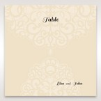 Yellow/Gold Jeweled Laser Cut - Table Number Cards - Wedding Stationery - 9