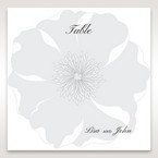 White True Love - Table Number Cards - Wedding Stationery - 51
