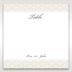 White Amabilis - Table Number Cards - Wedding Stationery - 5