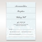 Silver/Gray   Floral Couture in Blue & White - Accommodation - Wedding Stationery - 62