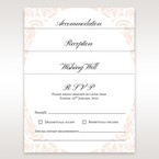 Victorian patterned matching stationery