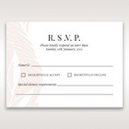 Orange Mystic Forest - RSVP Cards - Wedding Stationery - 3