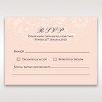 Orange Pink Light Romance - RSVP Cards - Wedding Stationery - 71