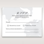 White True Love - RSVP Cards - Wedding Stationery - 74