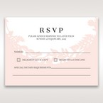 Pink Enchanted Forest I Laser Cut P - RSVP Cards - Wedding Stationery - 46