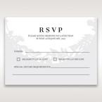 White Enchanted Forest I Laser Cut P - RSVP Cards - Wedding Stationery - 47