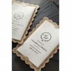 Vintage Lace Frame wedding invitations HB15040_11