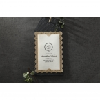 Vintage Lace Frame wedding invitations HB15040_12