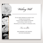 Black Gold Poppies in a Rose Garden - Wishing Well / Gift Registry - Wedding Stationery - 13