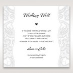 White White Dress - Wishing Well / Gift Registry - Wedding Stationery - 60