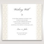 White Amabilis - Wishing Well / Gift Registry - Wedding Stationery - 65