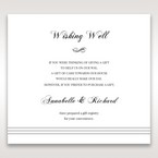 White Modern Pocket-Grey - Wishing Well / Gift Registry - Wedding Stationery - 66
