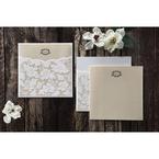 Yellow/Gold Precious Pearl Pocket - Wedding invitation - 70