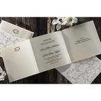 Yellow/Gold Precious Pearl Pocket - Wedding invitation - 71
