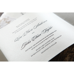 Yellow/Gold Precious Pearl Pocket - Wedding invitation - 72
