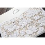 Yellow/Gold Precious Pearl Pocket - Wedding invitation - 73