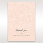 Orange Pink Light Romance - Thank You Cards - Wedding Stationery - 62