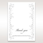 White Modern Times Vintage Pocket - Thank You Cards - Wedding Stationery - 67