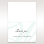 White Modern Marvel - Thank You Cards - Wedding Stationery - 14