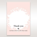 Pink Enchanted Forest I Laser Cut P - Thank You Cards - Wedding Stationery - 88
