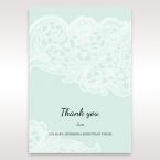 Blue Laser Cut Floral Pocket - Thank You Cards - Wedding Stationery - 42