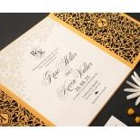 Golden Botanical gates - Wedding Invitations - PWI116022-DG-C-7618 - 183899