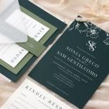 Forest Romance - Wedding Invitations - GI-MB300-WH-14 - 185326
