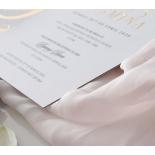 Monogram and Foil Triplex Elegance - Wedding Invitations - WP-TP02-MG-01-7641 - 184103