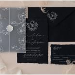 Magnificently Vintage - Wedding Invitations - DEBL-WI-01 - 185164