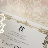 Blooming Charm Foil and Black Ink - Wedding Invitations - PWI116047-PFL - 185153