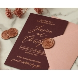 Rose Gold Foiled Blackberry - Wedding Invitations - WP-CR14-RG-01 - 184220