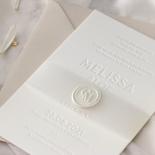 Immaculate Letterpress - Wedding Invitations - IC550-LPBD-02 - 184938