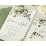 Captivating Greenery - Wedding Invitations - WP-CP02-GG-01 - 184473