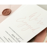 Blushed Engagement - Wedding Invitations - WP-IC55-LP-12 - 184448