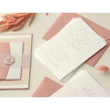 Sweet Letterpressed Romance - Wedding Invitations - WP-IC55-LP-05 - 184258
