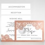 Breathtaking Baroque Foil Laser Cut - Wedding Invitations - FTG120001-KI-GG - 184537