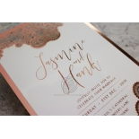 Breathtaking Baroque Foil Laser Cut - Wedding Invitations - FTG120001-KI-GG - 184534