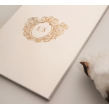 Hardcover Textured White - Wedding Invitations - HC-TW01 - 183907